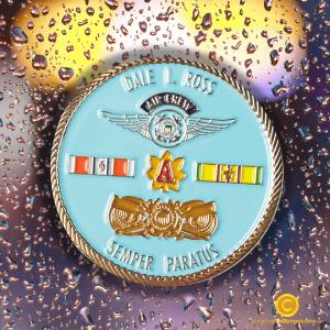 Coast Guard Honolulu Challenge Coin