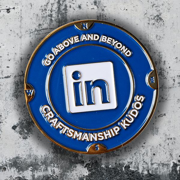 LinkedIn Corporate Coin