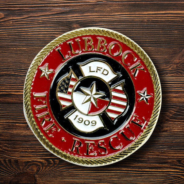 How to Design your Very Own Fore Department Challenge Coins