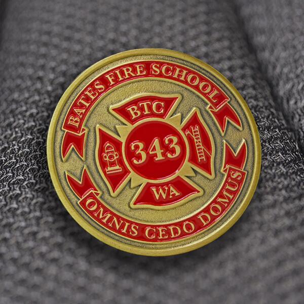 Fire School Coin