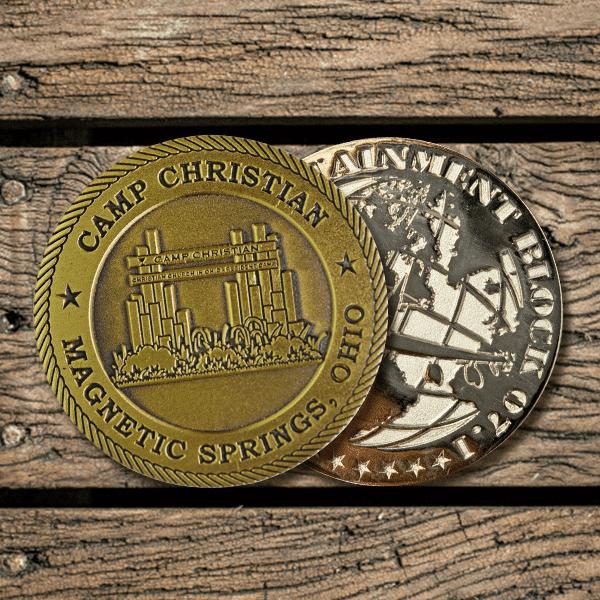 Die Struck Challenge Coin