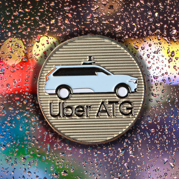 Uber Corporate Company Coin