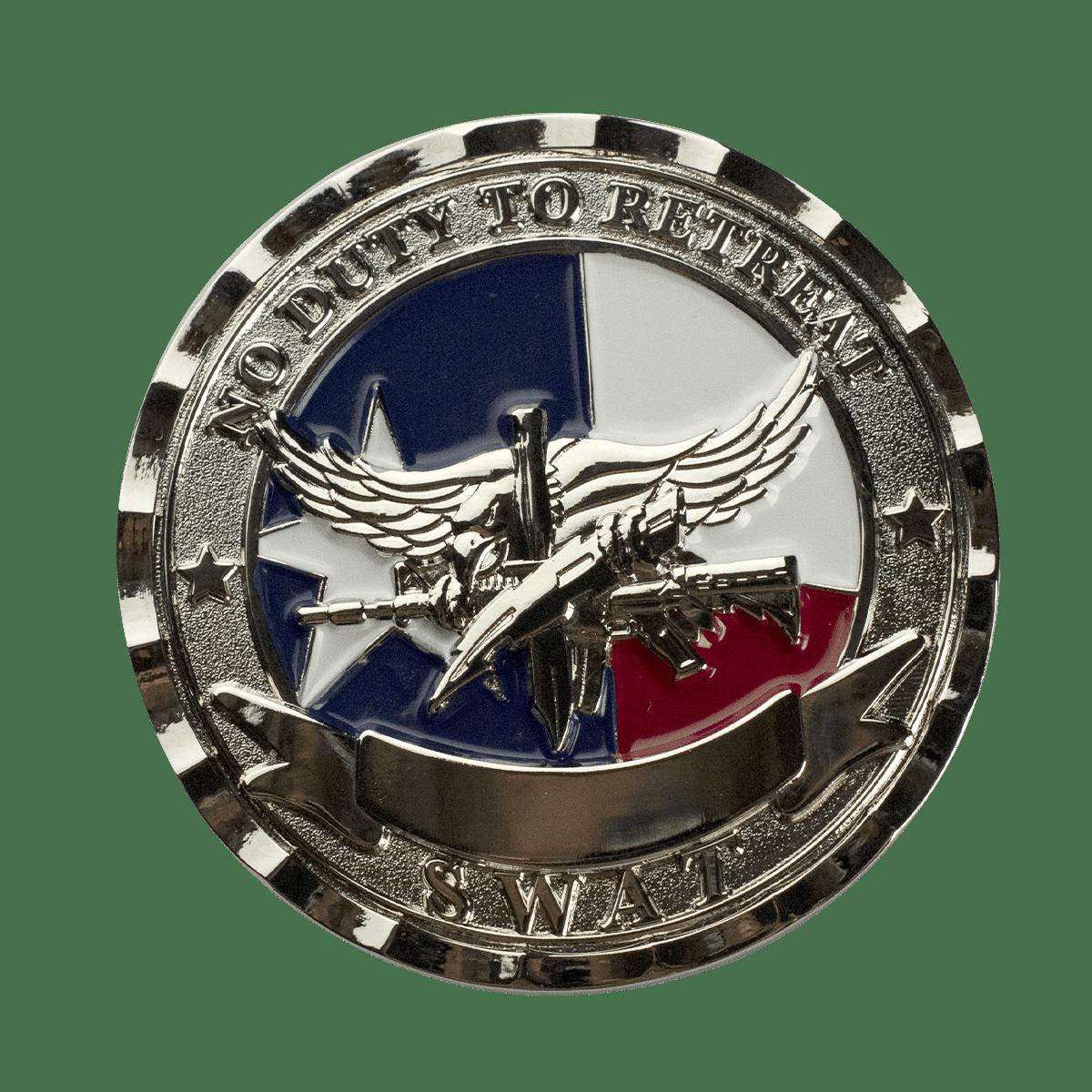 Challenge Coin Bevel Edge