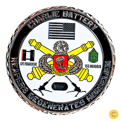 types of challenge coins