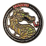 Army Mountain Dragon Challenge Coin