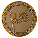 Military DDay Memorial Challenge Coin