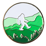 Bigfoot Field Research Challenge Coin