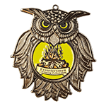 Frontiersmen Camping Colonials Challenge Coin