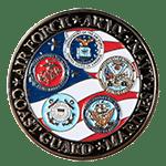 College Manhattan Student Veterans Challenge Coin