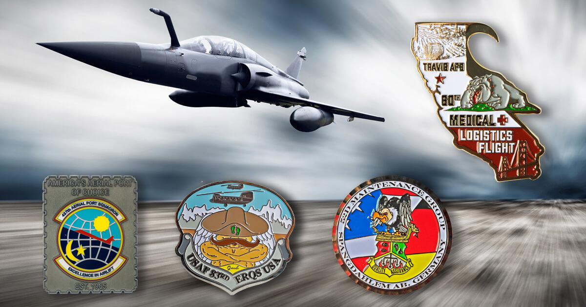 Airforce Challenge Coins