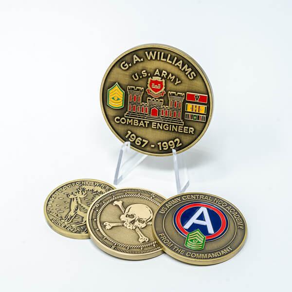 Antique Brass Coin Plating