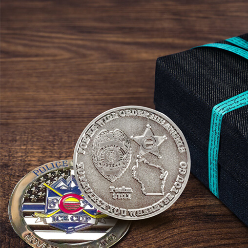 Gifts for Police Officers The Rise of Police ChallengeCoin