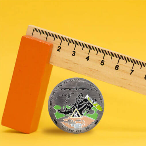 Sizing Guide - How to Choose the Right Custom Challenge Coin Size