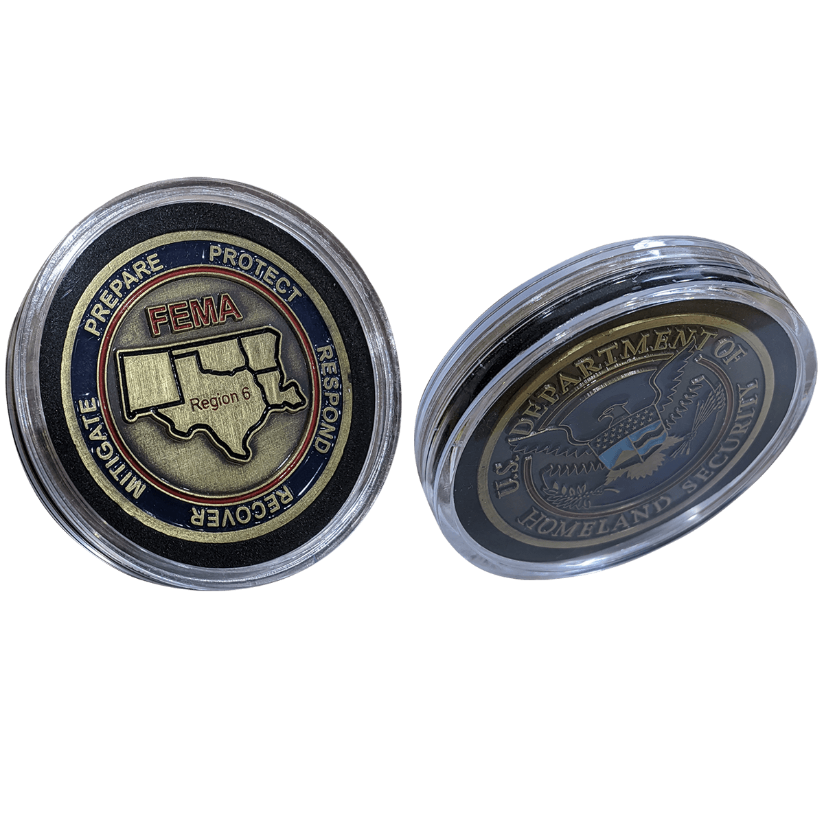 Challenge Coin Capsules