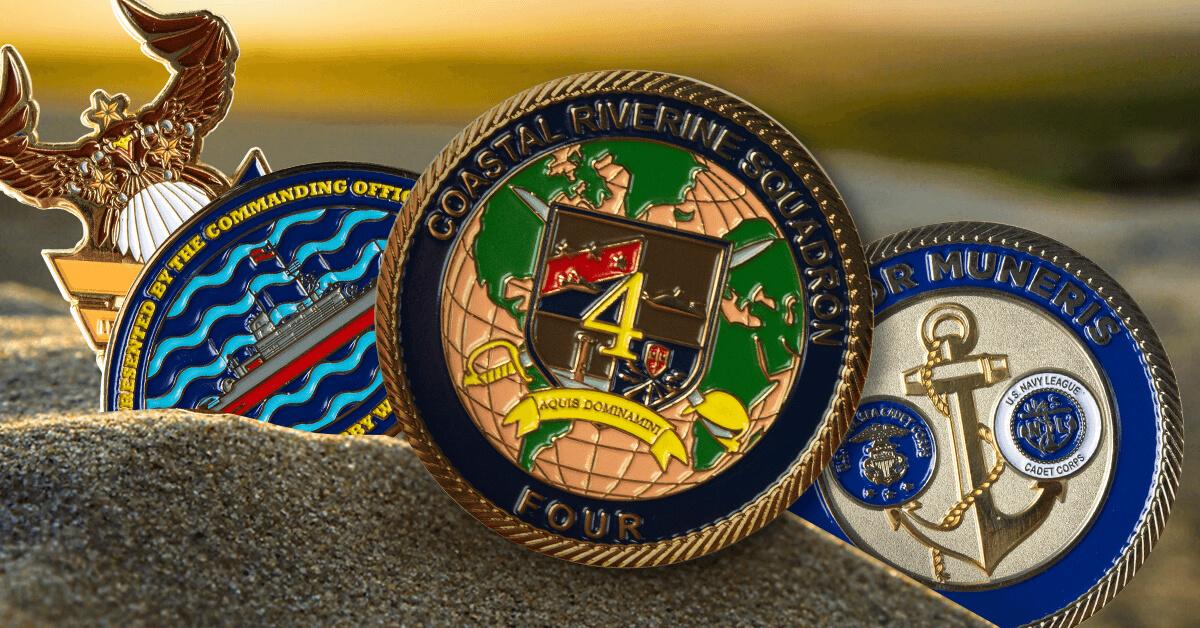 Navy Challenge Coins | Custom Challenge Coins