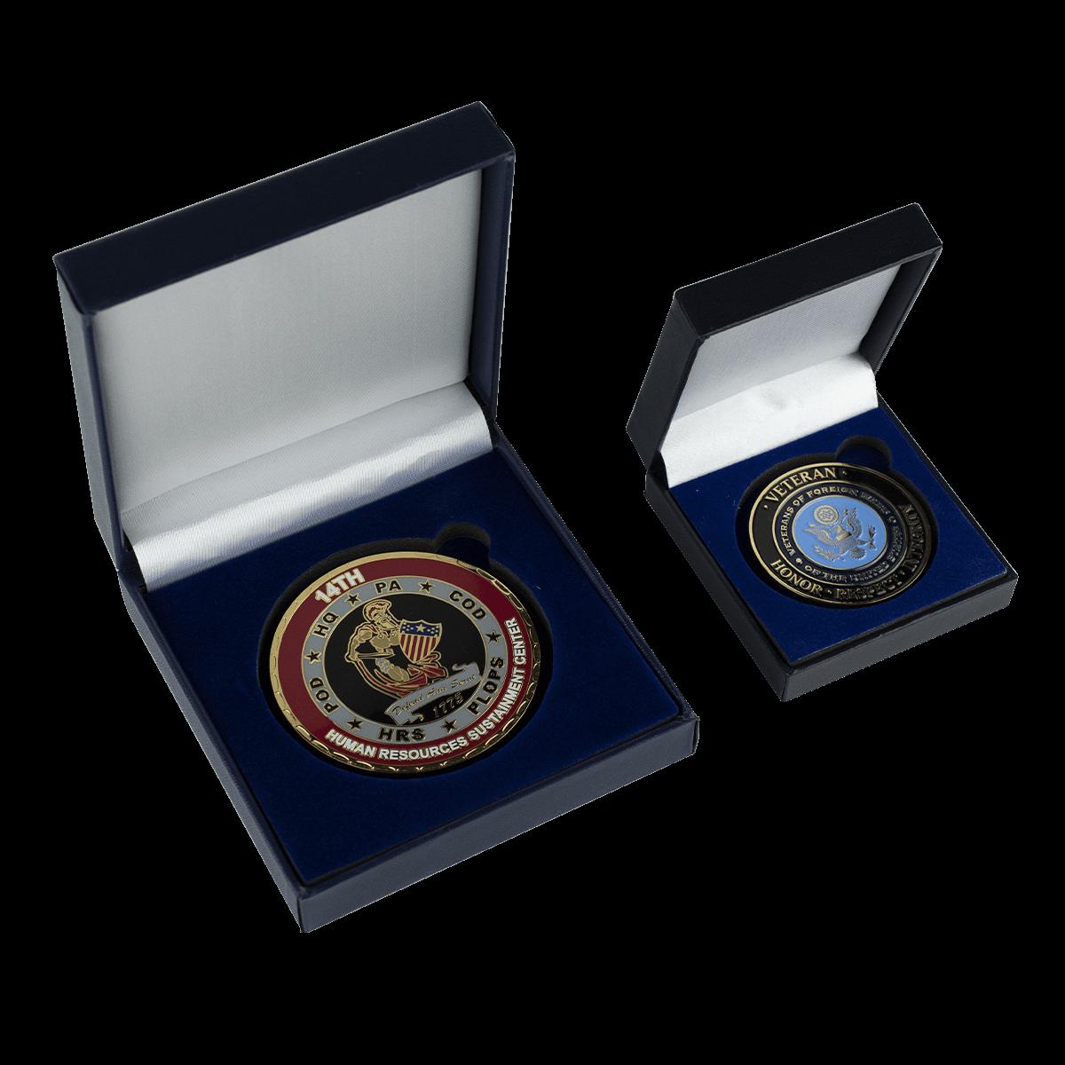 Challenge Coin Velvet Box