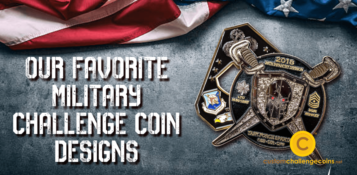Our Favorite Military Challenge Coin Designs