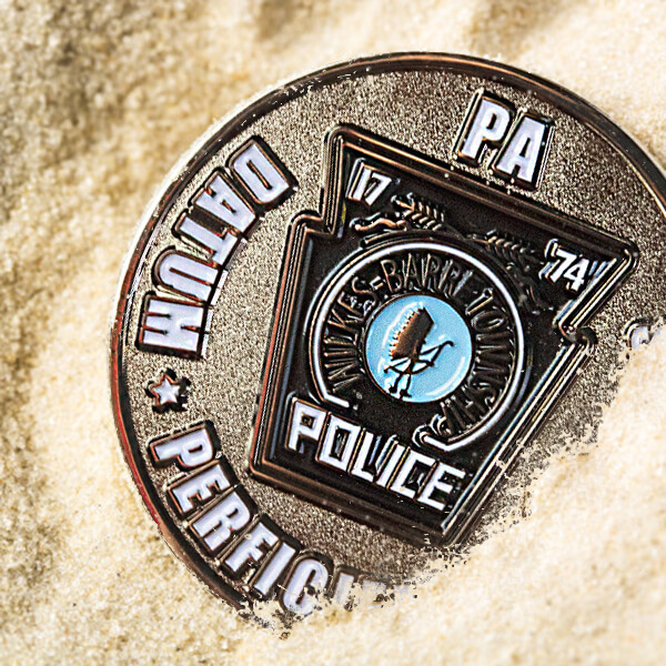 Police Challenge Coins